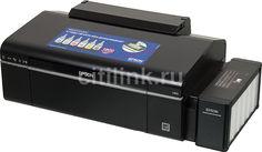 Принтер струйный EPSON L805, струйный, цвет: черный [c11ce86403]