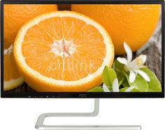 """Монитор ЖК AOC Style I2281FWH (01) 21.5"""", черный и серебристый"""