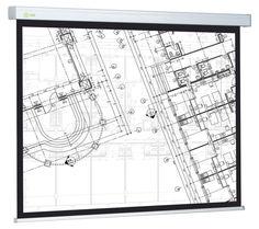 Экран CACTUS Wallscreen CS-PSW-104x186, 186х104.6 см, 16:9, настенно-потолочный белый