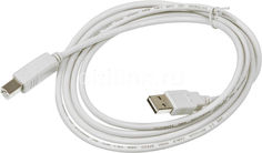 Кабель USB2.0 BURO Reversible, USB A(m) - USB B(m), 1.8м, серый