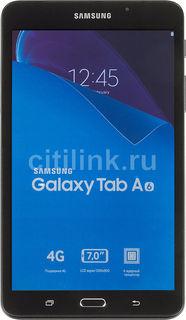 Планшет SAMSUNG Galaxy Tab A SM-T285, 1.5Гб, 8GB, 4G, Android 5.1 черный [sm-t285nzkaser]