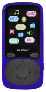 MP3 плеер DIGMA B3 flash 8Гб синий [b3bl]