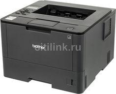 Принтер лазерный BROTHER HL-L5000D лазерный, цвет: черный [hll5000dr1]