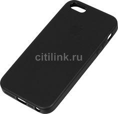Чехол APPLE MMHH2ZM/A, для Apple iPhone 5/5s/SE, черный