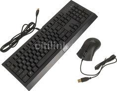 Комплект (клавиатура+мышь) RAZER Cynosa Pro Bundle, USB, проводной, черный [rz84-01470200-b3r1]