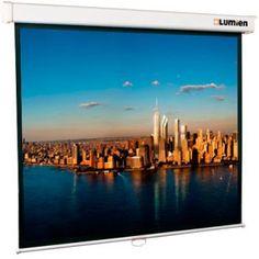Экран LUMIEN Master Picture LMP-100105, 207х207 см, 1:1, настенно-потолочный белый