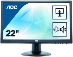 """Монитор ЖК AOC Professional E2275PWQU 21.5"""", черный"""