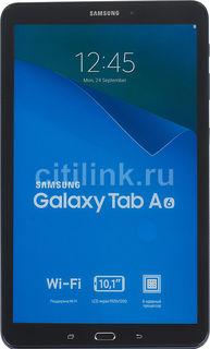 Планшет SAMSUNG Galaxy Tab A SM-T580N, 2GB, 16GB, Android 6.0 темно-синий [sm-t580nzbaser]