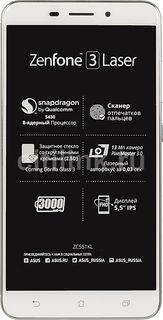 Смартфон ASUS ZenFone ZF3 Laser 32Gb, ZC551KL, серебристый