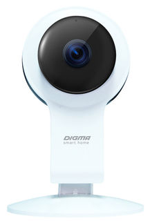 Видеокамера IP DIGMA DiVision 100, 2.8 мм, белый