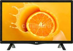 "LED телевизор LG 24LH451U ""R"", 24"", HD READY (720p), черный"