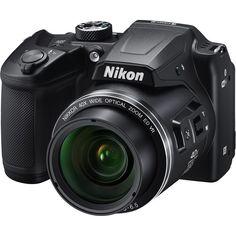 Цифровой фотоаппарат NIKON CoolPix B500, черный