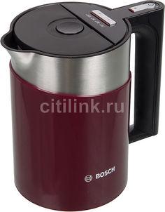 Чайник электрический BOSCH TWK861P4RU, 2400Вт, красный