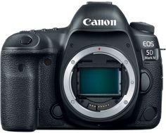 Зеркальный фотоаппарат CANON EOS 5D Mark IV body, черный