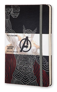 Блокнот Moleskine Limited Edition THE AVENGERS Мстители Large 130х210мм 240стр. линейка Thor [leavqp060th]