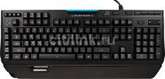 Клавиатура LOGITECH G910 Orion Spectrum, USB 2.0, c подставкой для запястий, черный [920-008019]