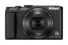 Цифровой фотоаппарат NIKON CoolPix A900, черный