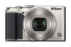 Цифровой фотоаппарат NIKON CoolPix A900, серебристый
