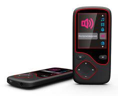 MP3 плеер DIGMA Cyber 3L flash 4Гб черный/красный [cyb3lb]