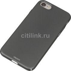 Чехол (клип-кейс) DEPPA Air Case, для Apple iPhone 7/8, графит [83269]