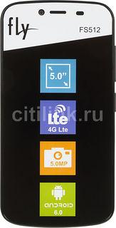 Смартфон FLY Nimbus 10 FS512, черный