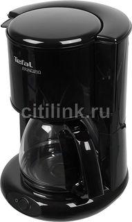 Кофеварка TEFAL CM261838, капельная, черный [7211002511]