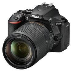 Зеркальный фотоаппарат NIKON D5600 kit ( 18-140 VR AF-S), черный