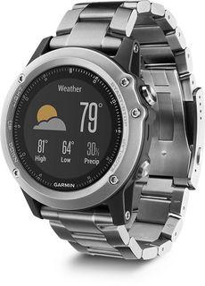 "Смарт-часы GARMIN Fenix 3 Sapphire, 1.2"", титан / титан [010-01338-41]"