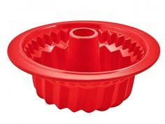 Форма для выпечки Tefal J4096814 кругл. d=27см силикон красный (2100094825)