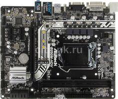 Материнская плата ASROCK B250M-HDV, LGA 1151, Intel B250, mATX, Ret