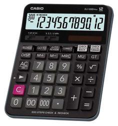 Калькулятор CASIO DJ-120D PLUS, 12-разрядный, черный