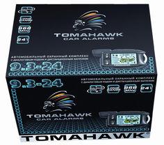 Автосигнализация TOMAHAWK 9.3-24V [9.3-24v автозапуск]