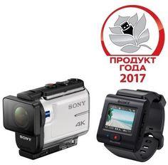 Экшн-камера SONY FDR-X3000R UHD 4K, WiFi, белый [fdrx3000r.e35]