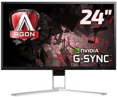 """Монитор ЖК AOC Gaming AG241QG 23.8"""", черный"""