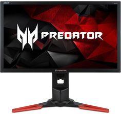 """Монитор ЖК ACER Predator XB252Qbmiprzx 3D, 25"""", черный [um.kx2ee.001]"""