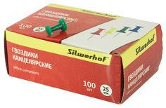 Гвоздики Silwerhof 502018 металл ассорти (упак.:100шт) картонная коробка