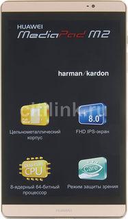 Планшет HUAWEI MediaPad M2, 3Гб, 32GB, 3G, 4G, Android 5.1 шампань [53017939]