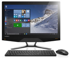 Моноблок LENOVO IdeaCentre 720-24IKB, Intel Core i3 7100, 4Гб, 1000Гб, NVIDIA GeForce GTX960A - 2048 Мб, Windows 10, черный [f0cm0015rk]