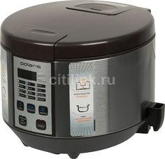 Мультиварка POLARIS PMC 0558AD, 700Вт, кофе