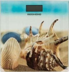 Напольные весы REDMOND RS-733, до 180кг, цвет: зеленый/рисунок [rs-733 (пляж)]