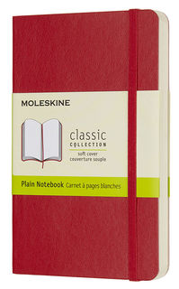 Блокнот Moleskine CLASSIC SOFT Pocket 90x140мм 192стр. нелинованный мягкая обложка фиксирующая резин [qp613f2]