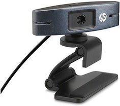 Web-камера HP HD 2300, черный и серый [y3g74aa]