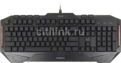 Клавиатура ASUS CERBERUS MKII, USB, черный [90yh0131-b2ra00]
