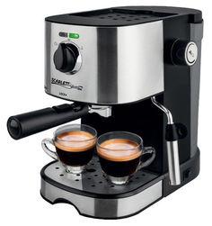 Кофеварка SCARLETT SL-CM53001, эспрессо, черный / серебристый [sl - cm53001]