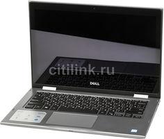"Ноутбук-трансформер DELL Inspiron 5378, 13.3"", Intel Core i3 7100U 2.4ГГц, 4Гб, 1000Гб, Intel HD Graphics 620, Windows 10, 5378-7841, серый"