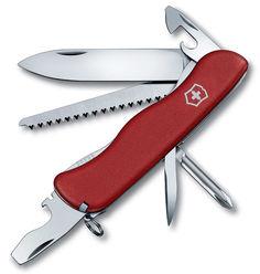 Складной нож VICTORINOX TRAILMASTER, 12 функций, 111мм, красный [0.8463]