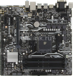 Материнская плата ASUS PRIME B350M-A, SocketAM4, AMD B350, mATX, Ret