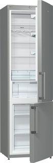 Холодильник GORENJE NRK6201GHX, двухкамерный, нержавеющая сталь