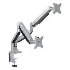 """Кронштейн для мониторов Arm Media LCD-T32 серебристый 15""""-32"""" макс.18кг настольный поворот и наклон [10161]"""