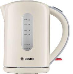 Чайник электрический BOSCH TWK7607, 2200Вт, кремовый